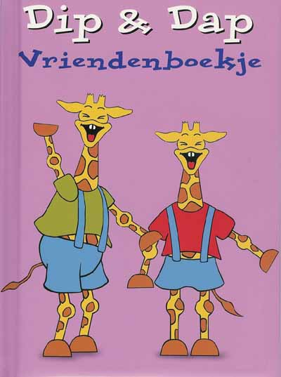 vriendenboekje pagina giraf